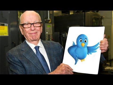 Rupert Murdoch (News Corporation) joins Twitter
