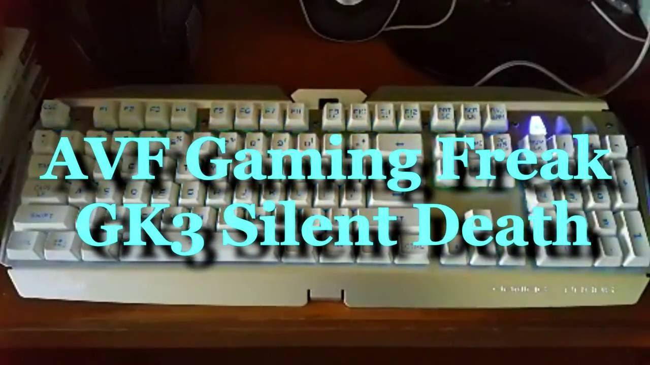 avf gaming freak gk3