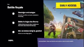Krasse round with the new SKIN Fortnite Battle royale ( English )