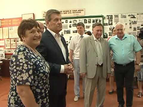 Лев Лещенко побывал в селе Любимовка Курской области