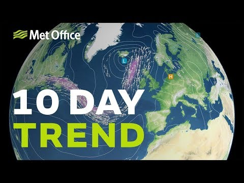 10 Day Trend – Wetter This Week, But Could It Turn Hotter Next Week? 17/07/19