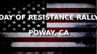 Day of Resistance .223 Rally - Poway California