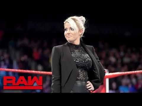 Alexa Bliss reveals the Raw Women's Survivor Series Team: Raw, Nov. 12, 2018 thumbnail