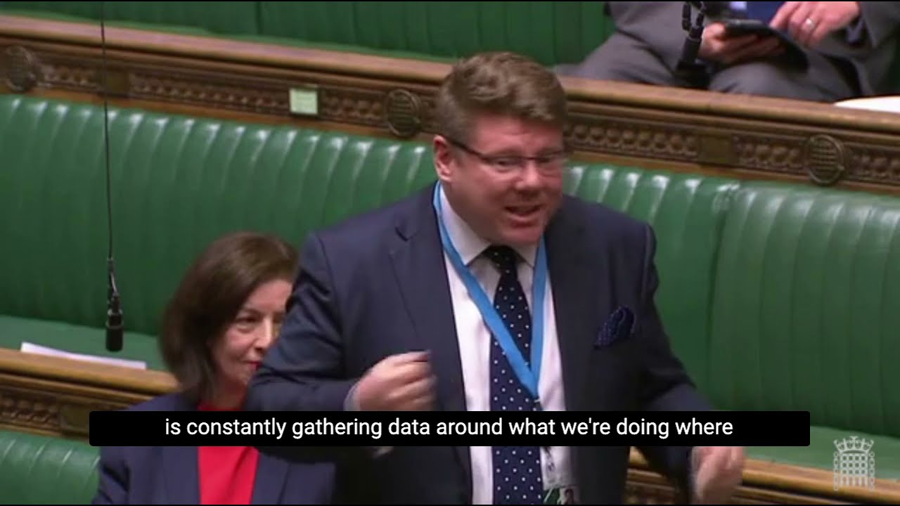 Dean Russell MP speech on the future of the NHS and digital technology