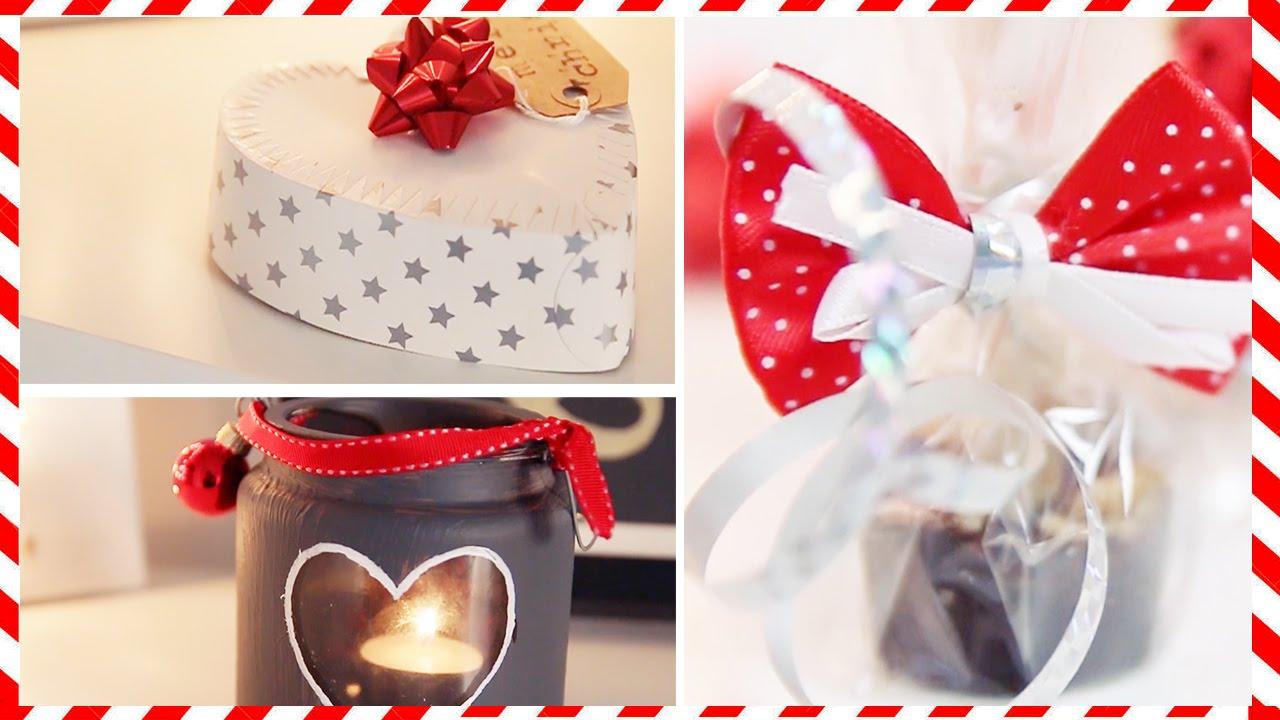 Diy Leuke Kerst Cadeautjes Jiami Youtube