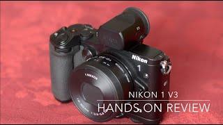 nikon1 V3 Review