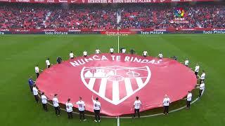Calentamiento Sevilla FC vs CD Leganés