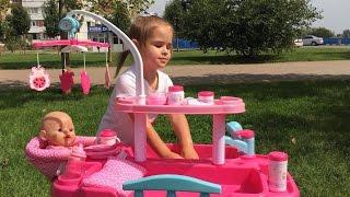 Играем в Куклы Новые Наборы Кукла Беби Борн Видео для детей   игры для девочек Новые игрушки