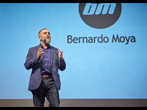 """Bernardo Moya's talk """"The Best You Expo"""" UK. Focus on the Questions, talk less and take more action."""