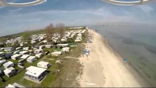 Flug am Strand von Ostermade