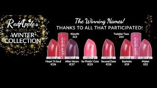 Red Apple Lipstick Winter 2015 Collection Announcement!