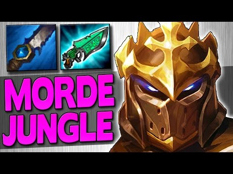 CARRYING WITH MORDEKAISER JUNGLE??