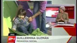 Entrevista académica Guillermina Guzmán - Canal 24 horas - TVN