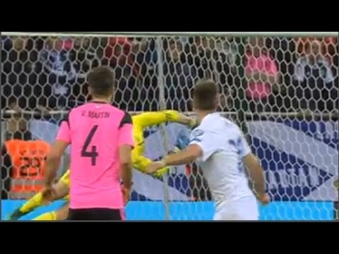 Slovakia - Scotland 3-0 Goals & Highlights 11/10/2016