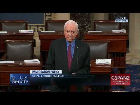 Hatch Previews High Skilled Immigration Bill
