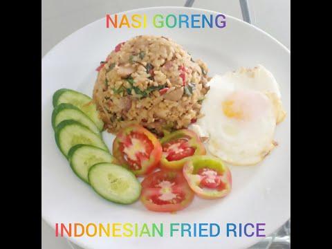 NASI GORENG - INDONESIAN FRIED RICE (by a Filipino cook)