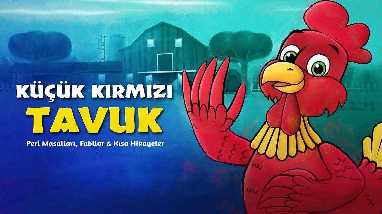 Küçük Kırmızı Tavuk - Çizgi Film Masal