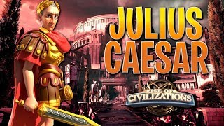 Upgrading and Building Julius Caesar - Rise Of Civilizations