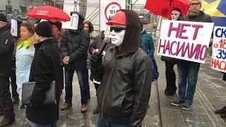Секс-работники Украины вышли на Майдан