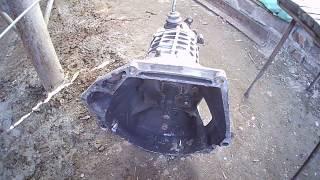 Замена КПП ВАЗ 2107  Как убить коробку ездия без масла