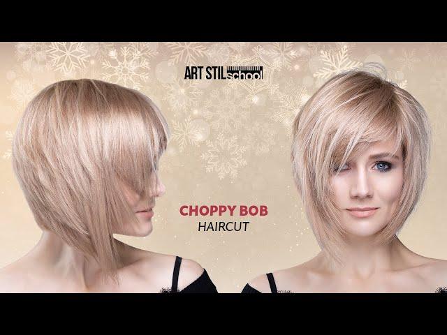 Choppy Bob Haircut 2020 Youtube