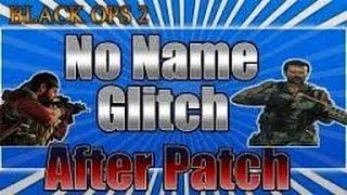 Call of Duty: Black Ops 2 No Name Glitch