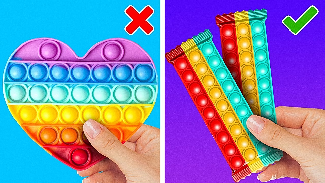 Cool POP IT Hacks And Creative DIY Ideas With Fidget Toys You Wish You Knew Before