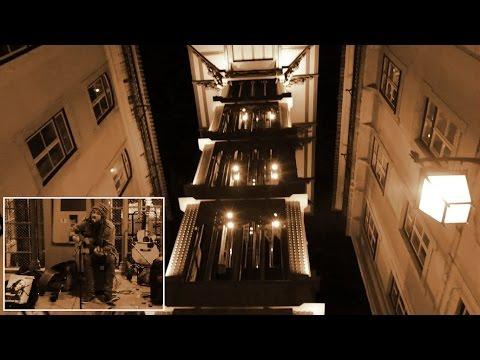 Dane Glasby (GBR) - Live at Santa Justa street, Lisbon