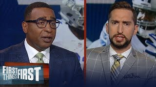 Without Ezekiel Elliott the Cowboys aren't a playoff team — Cris Carter | NFL | FIRST THINGS FIRST