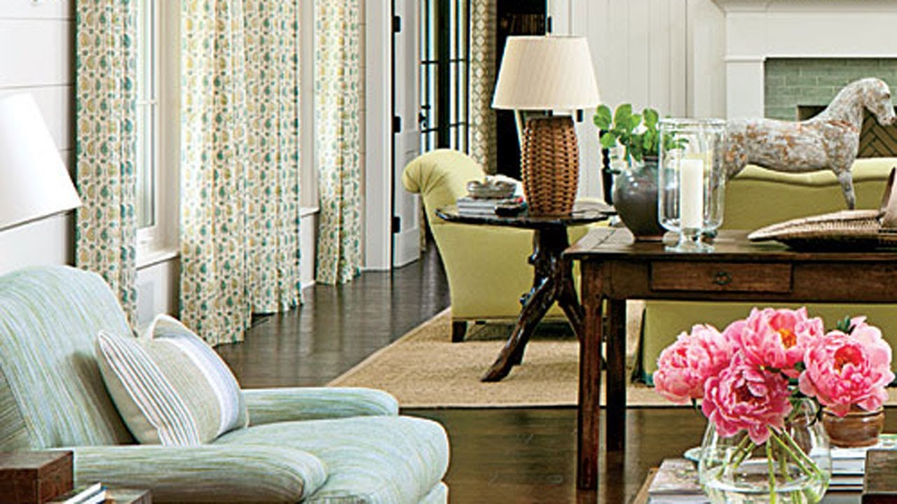 High Quality Placing Furniture On Area Rugs   Southern Living   YouTube