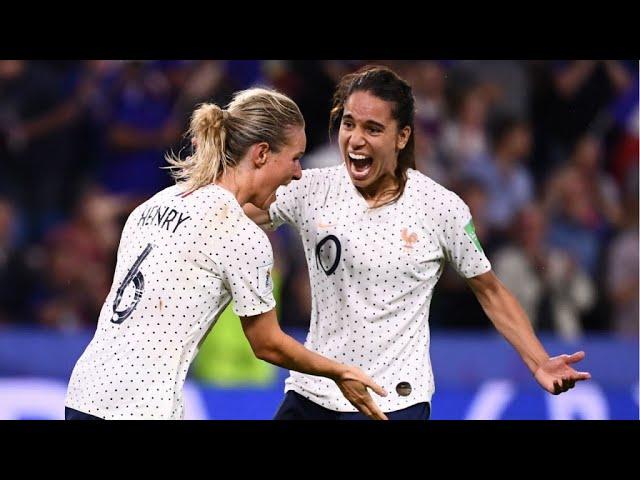 Mondial-2019 : les Bleues se qualifient au bout des prolongations face au Brésil (2-1)