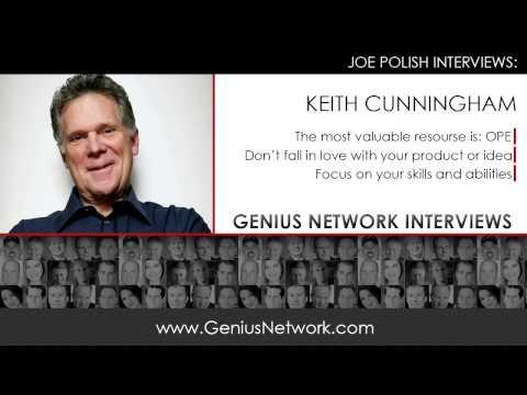 Keith Cunningham:  Genius Network Interviews