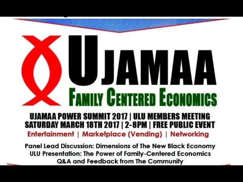 Ujamaa Power Summit 2017 (Full Program)
