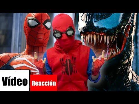 VENOM VS SPIDERMAN RAP. KRONNO x ZARCORT | NERY.G (Vídeo Reacción)