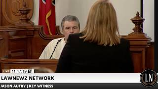 Holly Bobo Murder Trial Day 4 Part 1 Jason Autry Testifies 09/14/17