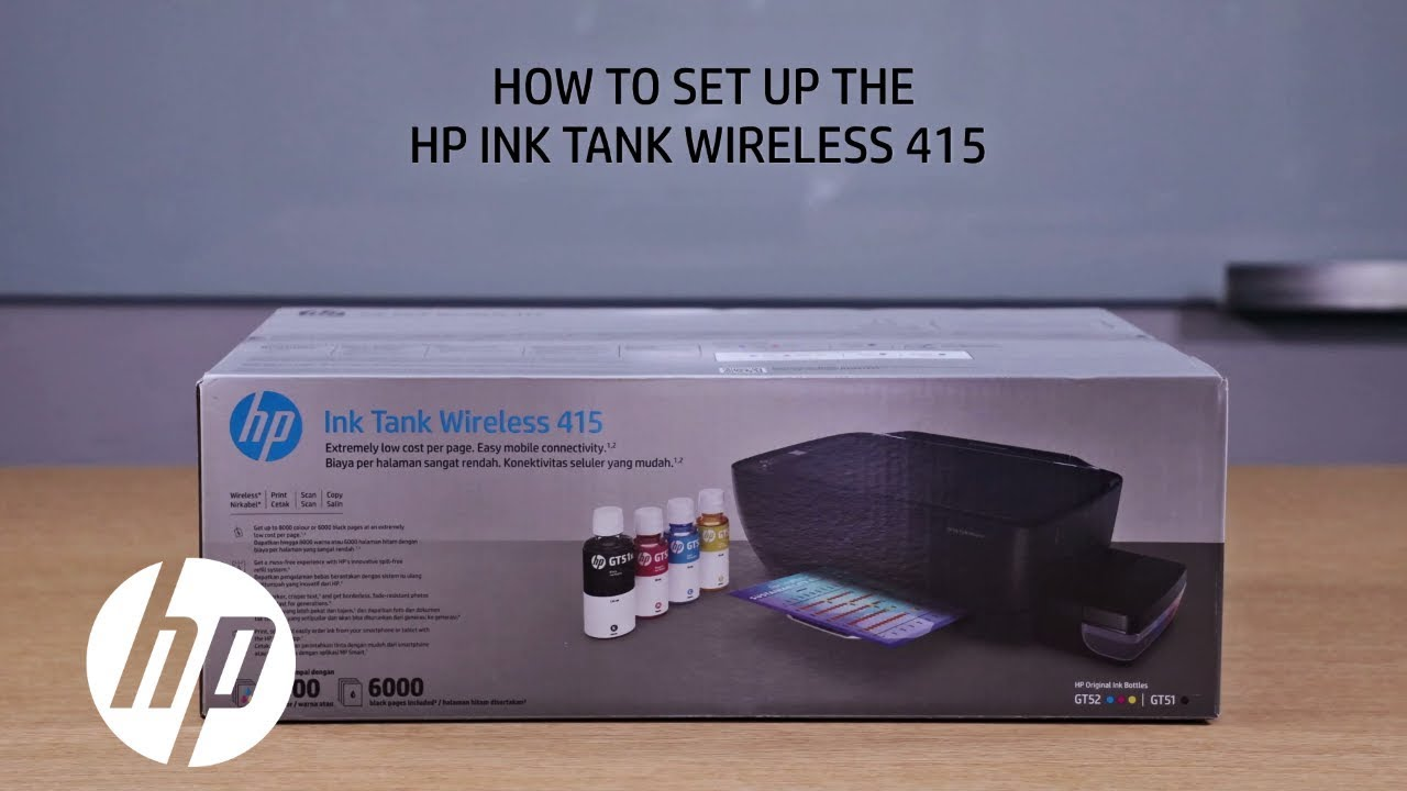 Hp Ink Tank 400 Series Unboxing Video Hp Asia Youtube