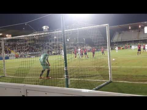 Cesena-Samb 2-1 (Coppa Italia) gol Laribi