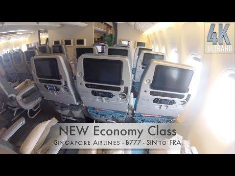 Trip Report: NEW ECONOMY on SIA - Singapore to Frankfurt (4K)