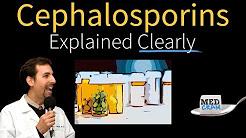 Cephalosporins Explained Clearly by MedCram.com
