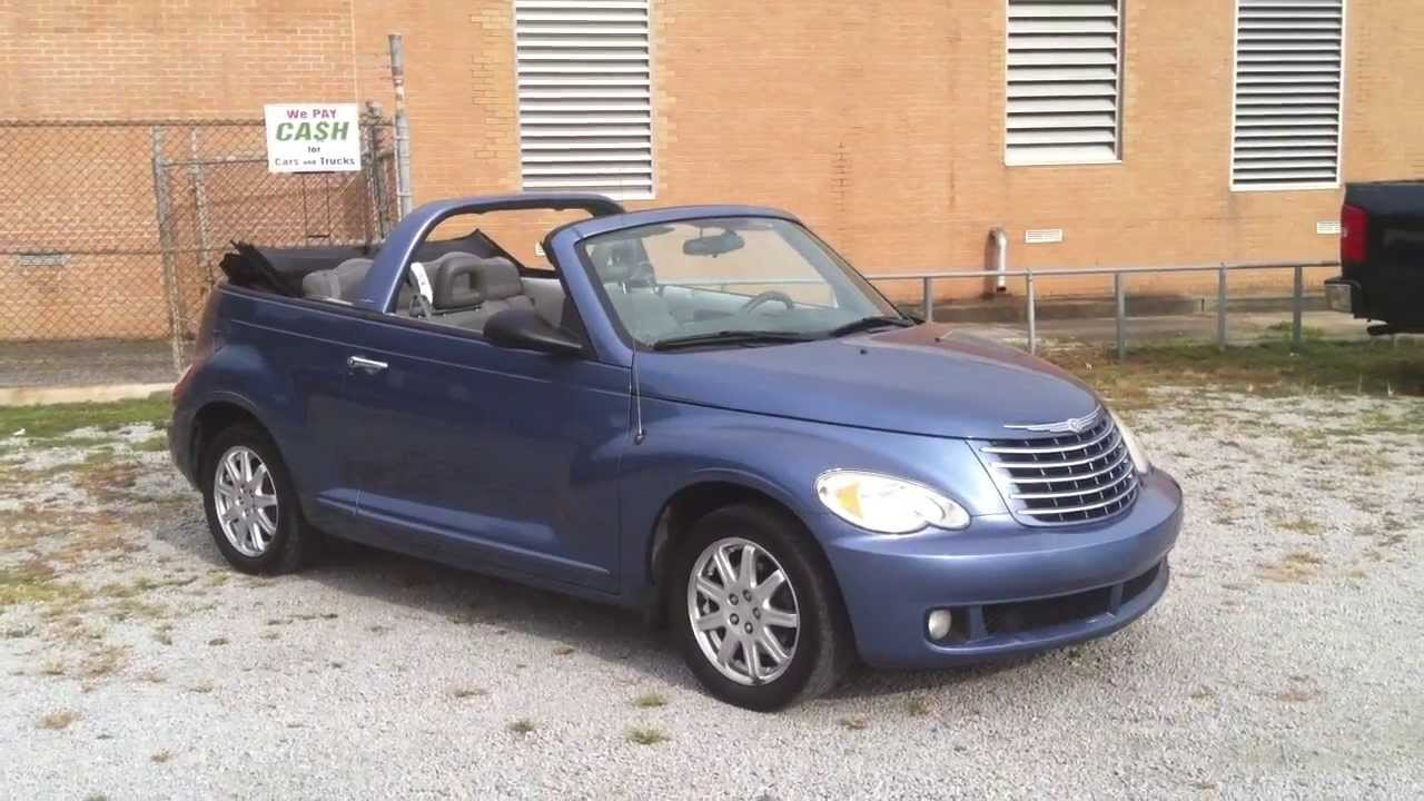 2007 chrysler pt cruiser convertible for sale at royal auto sales in charleaton sc youtube. Black Bedroom Furniture Sets. Home Design Ideas