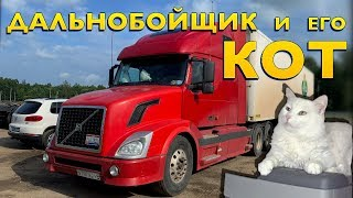 Купил VOLVO VNL за 800 000 рублей и поехал в первый рейс. Почему Эдик выбрал американца?