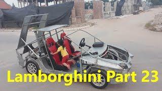 Homemade Lamborghini car part 23
