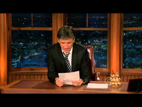 Late Late Show with Craig Ferguson 4/13/2010 James Marsden, Charlyne Yi