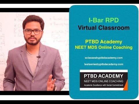 I-Bar RPD - Virtual Classroom