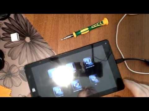 Irbis Tw36. замена сенсора,клавиатуры,установка винды
