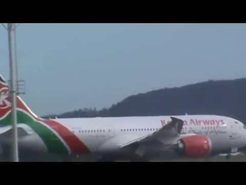 kenya airways boeing 787 Dreamliner moi international airport