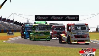 Formula Truck Simulator 2013 Gameplay [ PC HD ]