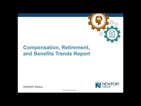 Compensation, Retirement and Benefits Report Webinar