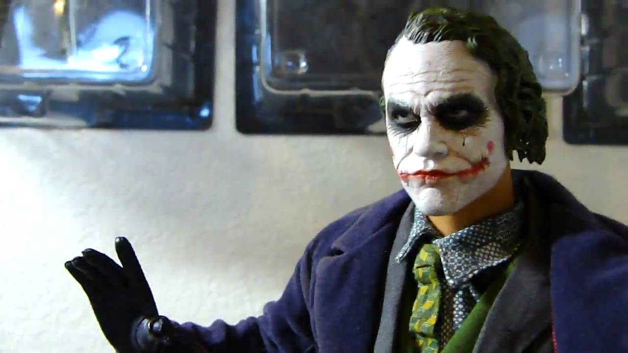 Hot Toys Joker Mms Dx 01 Figure Youtube