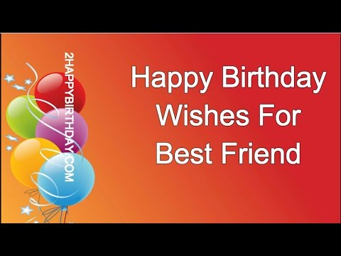 Happy Birthday Wishes For My Friend